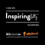 I am a Inspiring Fifty Nominee